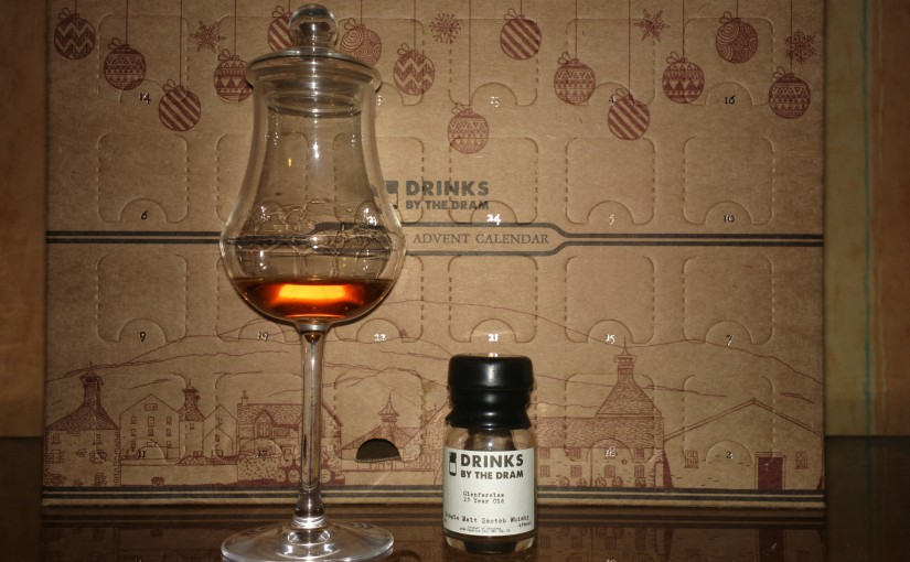 Whisky Advent Calendar day 1 : Glenfarclas 25 years old