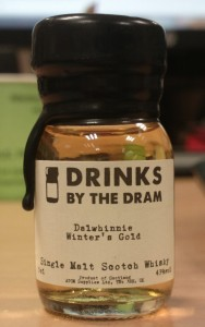 Whisky Advent Calendar day 21 : Dalwhinnie Winter