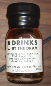 Whisky Advent Calendar day 24 : Douglas Laing - Invergordon 50 years old (1964, cask 2)