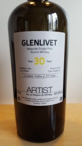 Glenlivet 30 years old - Artist #1