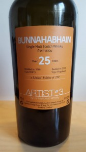 Bunnahabhain 25 years old - Artist #3