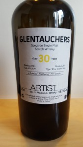 Glentauchers 30 years old - Artist #1