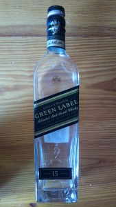 Johnnie Walker Green Label - Full bottle shot