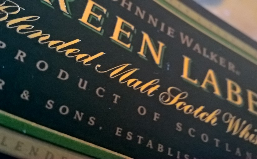 Johnnie Walker Green Label – 15 ans